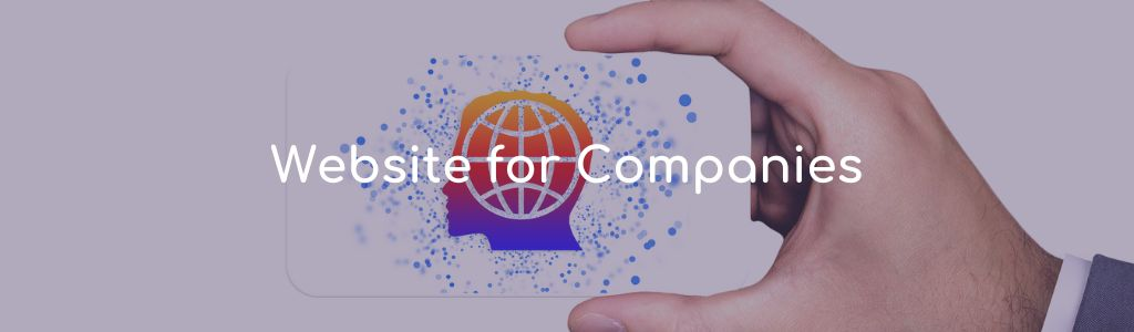 Website for companies
